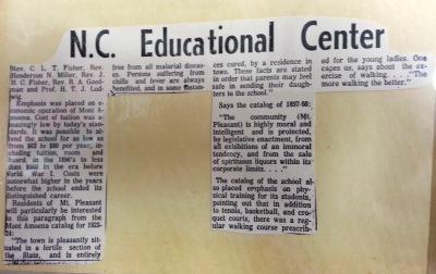 N. C. Educational Center