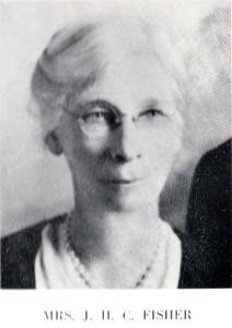 Fisher, Leah Blackwelder, c 1950