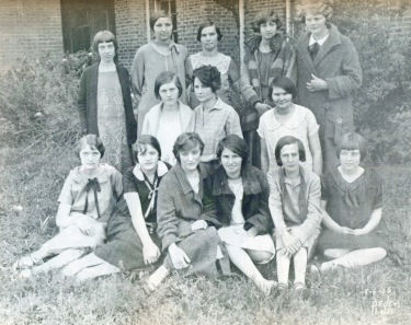Sophomore class of 1925-1926,