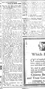 Constance Cline-concord Daily Trib 25 Jan 1926_Page_1