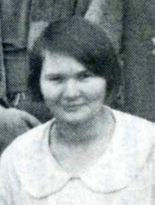 Sigmon, Madeline, 6 May 1926
