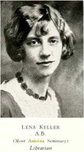 keller-lena-lenoir-rhyne-1931