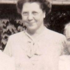 Thelma Vera Suther Watts Dellinger, c. 1951. Photo: ECHS.