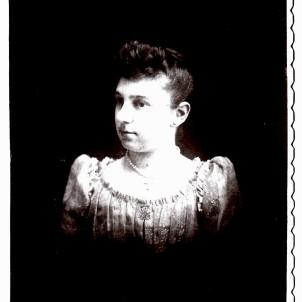 """Josepha """"Josie"""" Aurelia Linn, c. 1890-1892."""