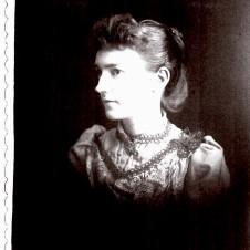 Rhea Laura Linn, c. 1890-1892.