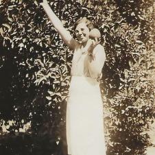 Thelma Suther Watts, 1935. Photo: Linda Suther Herring.