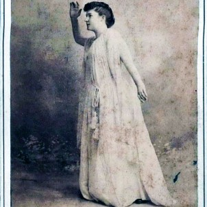Erie Caldwell, c. 1890. Photo courtesy of Diana Rawlins.